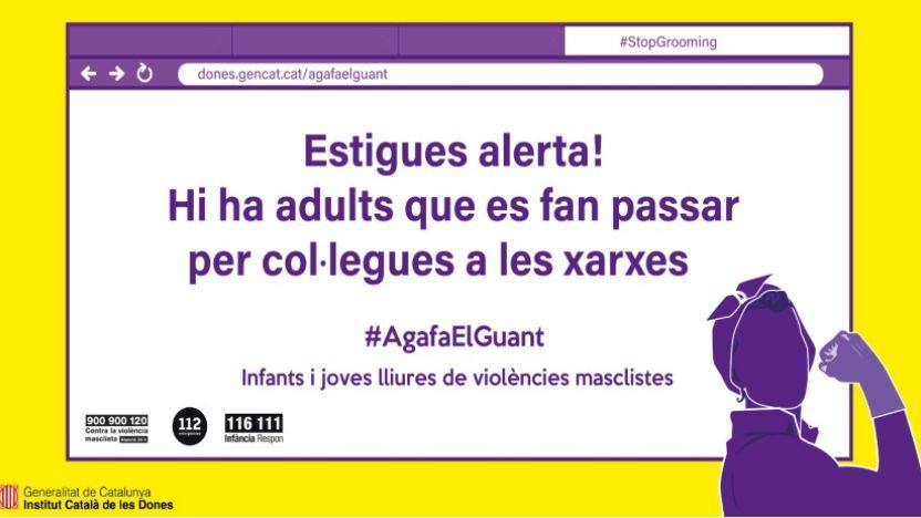 L'Institut Català de les Dones. #AgafaElGuant