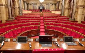 Hemicicle del Parlament de Catalunya. Font: Parlament de Catalunya